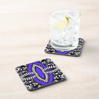 Zen Doodle Drink and Beverage Coasters