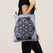 Zen-Doodle Shoulder Case Tote Bag