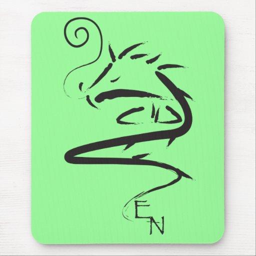 Zen Dragon 3 Mouse Pad