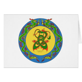 zen dragon ring card