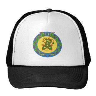 zen dragon ring trucker hat