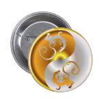 Zen Dragons 2 Inch Round Button