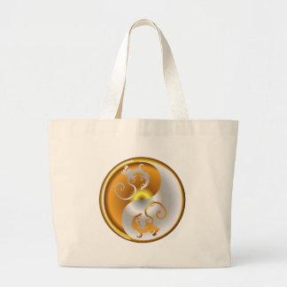 Zen Dragons Tote Bags