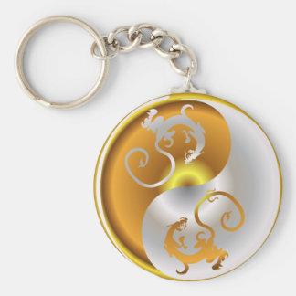 Zen Dragons Keychain