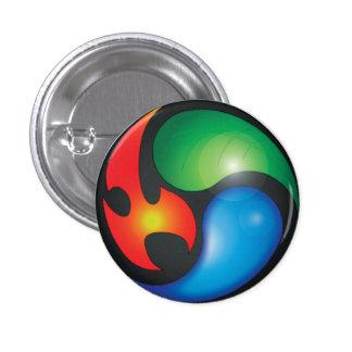 Zen Elements Yin Yan Symbol Button