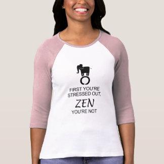 Zen Elephant Enso Don't Stress T-Shirt