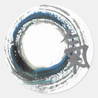 Zen Energy, Enso Classic Round Sticker