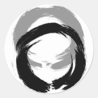 Zen Enso Round Sticker