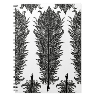 Zen Feather Design Notebook