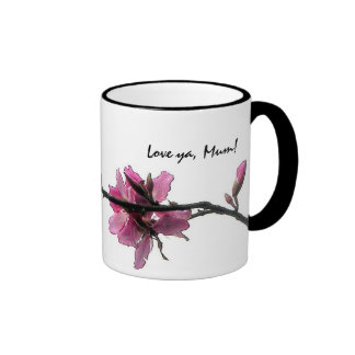 Zen Flora Love-ya Mother's-Day Birthday Gift Mug