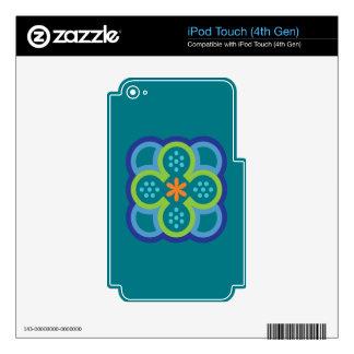 Zen Flower iPod Touch 4G Skin