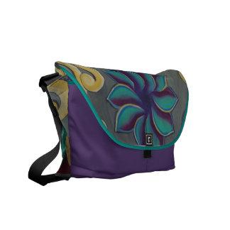 Zen Flower Messenger Bag