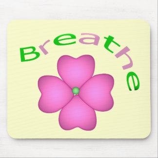 Zen Flower Petal - Breathe Mouse Pads