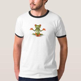 Zen frog tee shirt