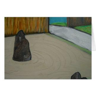 """""""Zen Garden"""" Card"""