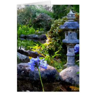 Zen Garden Card