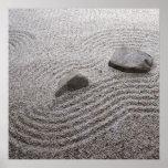 Zen Garden Detail. Print