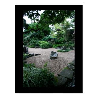 Zen Garden Landscape and Gardens Photography Postcard