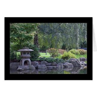 Zen Garden Landscape Card