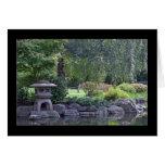 Zen Garden Landscape Greeting Card
