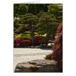 Zen Garden Latern Card