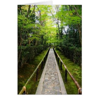 Zen Garden Path Stationery Note Card
