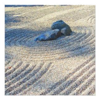 Zen Garden Personalized Invitation