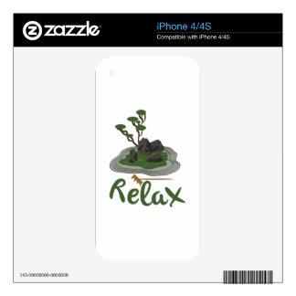 Zen Garden Relax iPhone 4S Skins