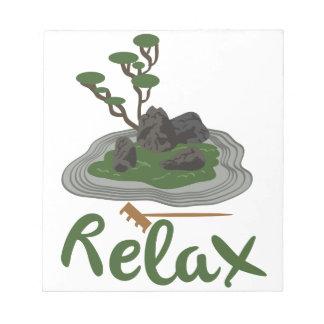 Zen Garden Relax Notepad