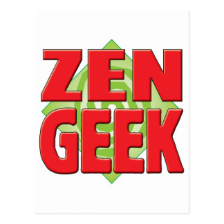Zen Geek v2 Postcards