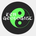 Zen Geologist Sticker