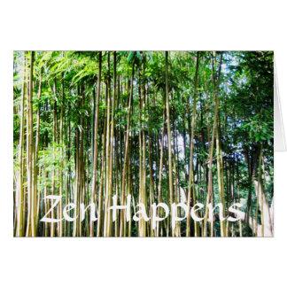 Zen Happens Card