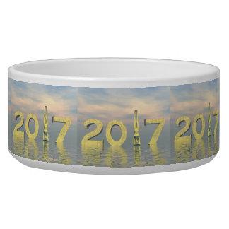 Zen happy new year 2017 - 3D render Bowl