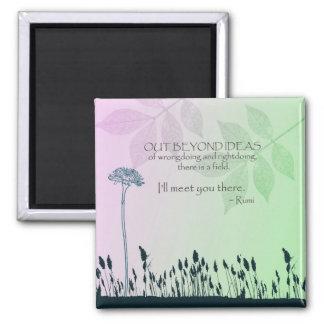 Zen Ideas 2 Inch Square Magnet