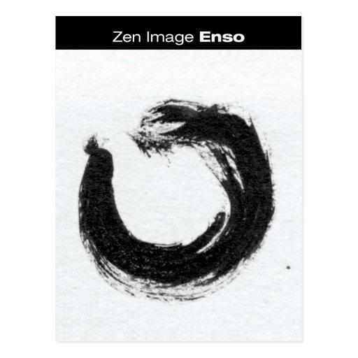 Zen Image: Enso Postcard