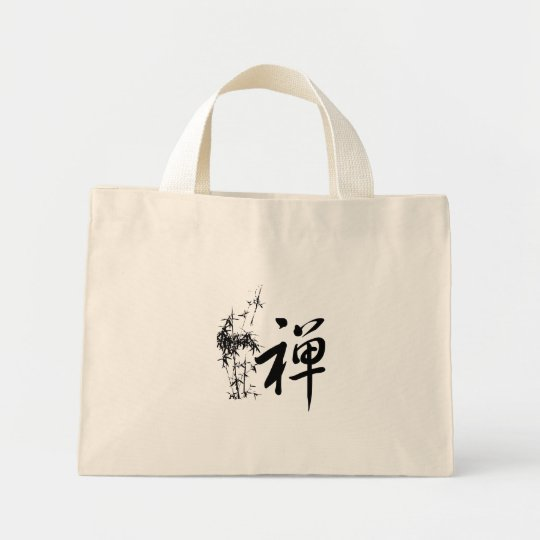 Zen in Chinese Mini Tote Bag