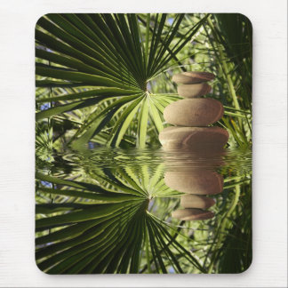 Zen in forest mouse pad