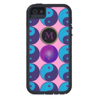 zen initial yin-yang meditation iPhone SE/5/5s case