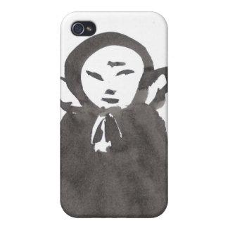 Zen Ink Jizo the Monk iPhone Case iPhone 4/4S Cases