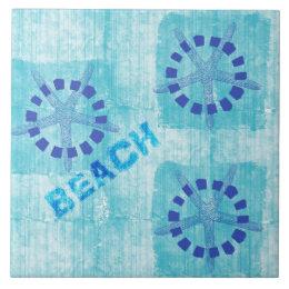 Fishing Themed Ceramic Tiles Zazzle - Beach themed ceramic tile