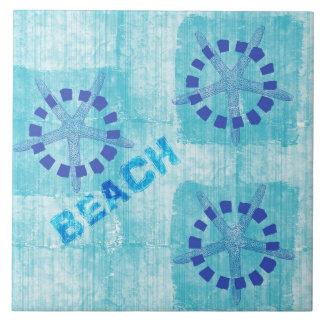 Zen Inspired Beach Theme Starfish Ceramic Tile