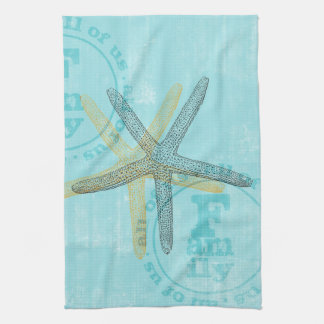 Zen Inspired Beach Theme Starfish Towels