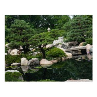 Zen Japanese Garden Postcard