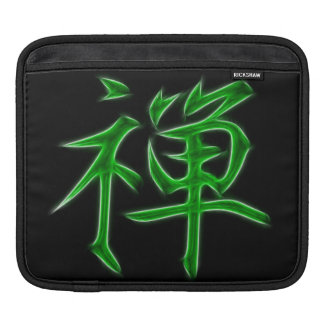 Zen Japanese Kanji calligraphy Symbol Sleeve For iPads