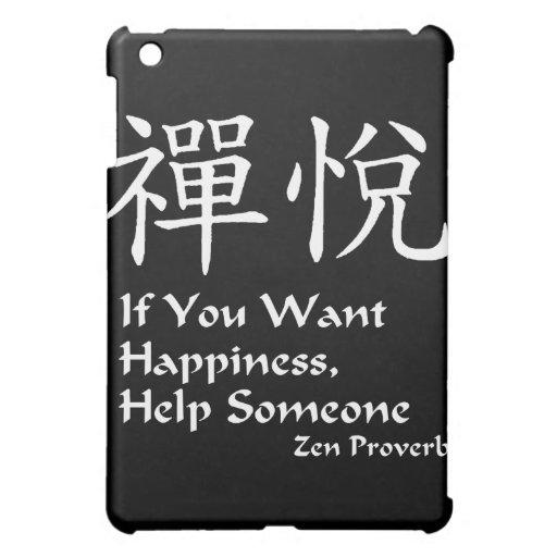 Zen Joy - Happiness iPad Mini Case