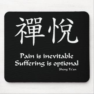 Zen joy - Suffering is Optional Mouse Pad