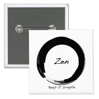 Zen: Keep it simple Button