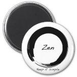 Zen: Keep it simple Fridge Magnet