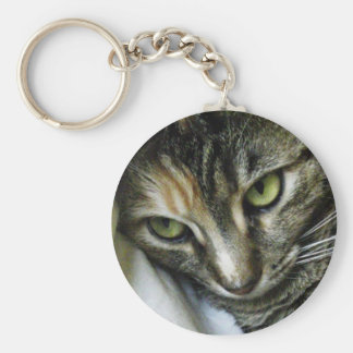 Zen Kitty Keychain