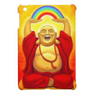 Zen Laughing Buddha Rainbow iPad Mini Case